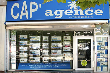 Picture of our real estate agency in Antibes